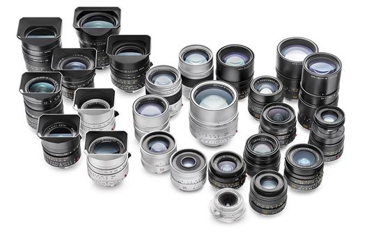 Leica M-Objektive limitierte Sonder-Editionen
