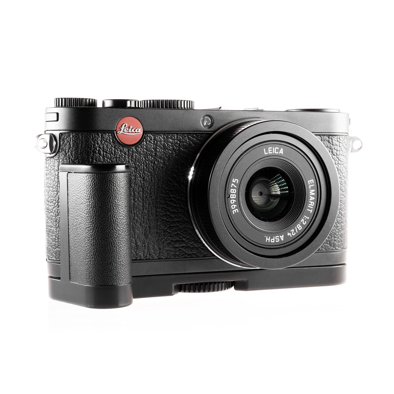 Gelegenheiten Leica X1 schwarz  mit Handgriff
