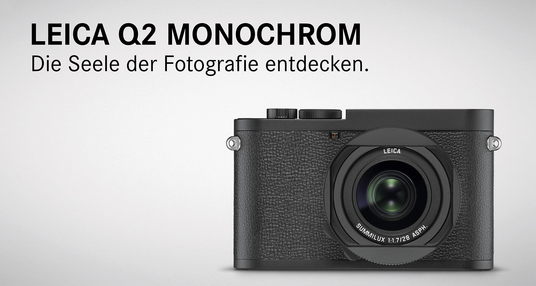 Leica Q2 Monochrom im Leica Store Konstanz am Lager vorrätig!