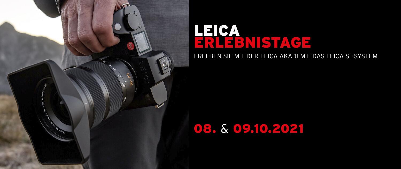 (slider – Erlebnistage Leica SL-System)