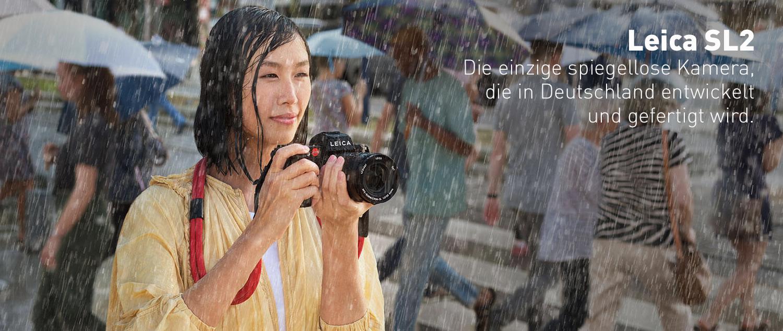 Leica SL2 – Die einzige spiegellose Kamera, die in Deutschland entwickelt und gefertigt wird. Im Leica Store Konstanz am Lager vorrätig!