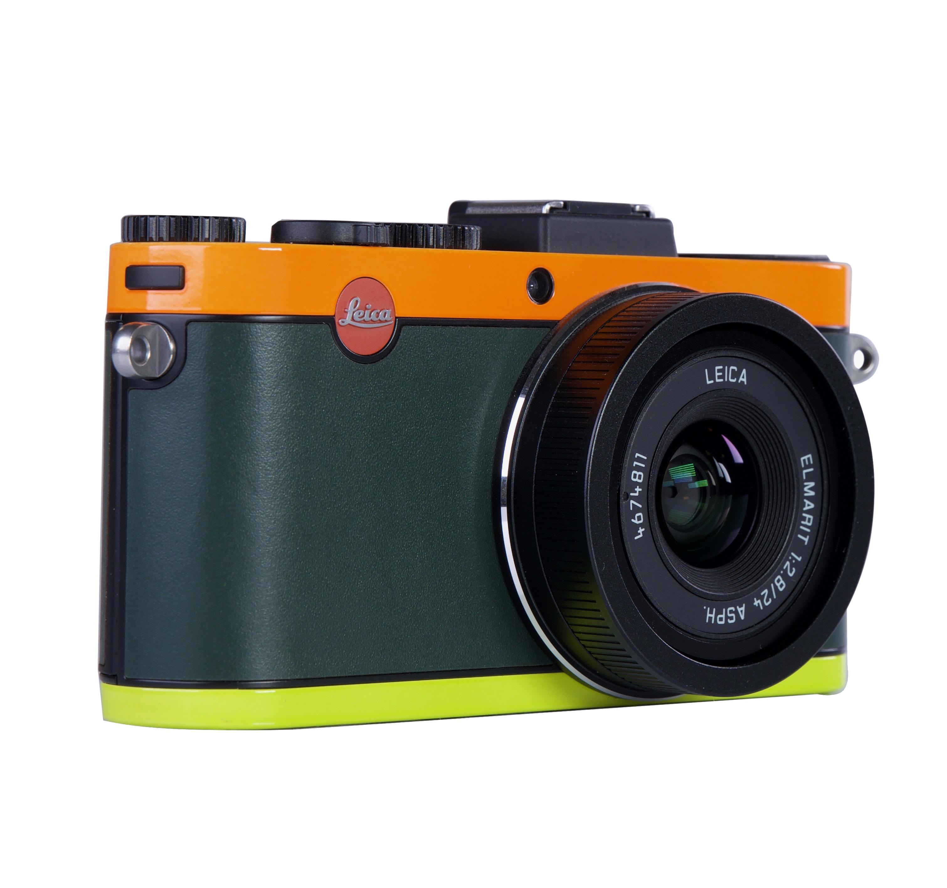 Gelegenheiten Leica X2 (Edition Paul Smith) orange/grün/gelb